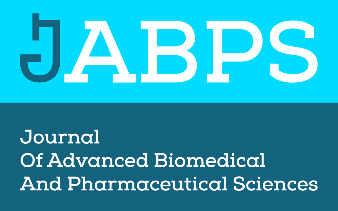 Journal of advanced Biomedical and Pharmaceutical Sciences